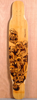 "Loaded 49"" Bhangra Longboard Deck - Flex 1"