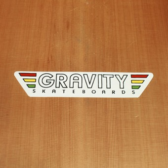 Gravity Sticker Tri-Color