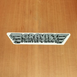 Gravity Sticker Gray