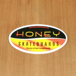 Honey Sticker Oval