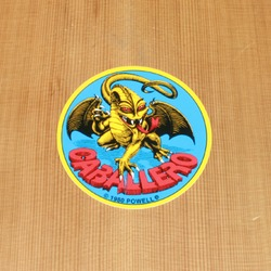 Powell Sticker Cab Dragon