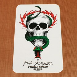 Powell Sticker McGill Skull & Snake
