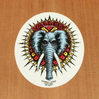 Powell Sticker Vallely Elephant