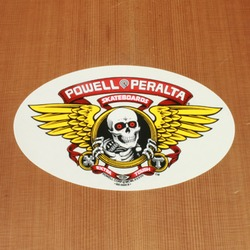 Powell Sticker Winged Ripper
