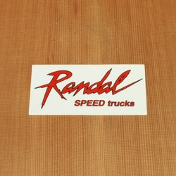 Randal Sticker Lightning