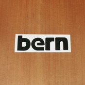 "Bern Sticker 6"" Black"