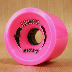 Abec11 BigZigs 75mm 77a Wheels - Pink