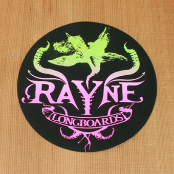 "Rayne Sticker 5"" Multi-Color Round"