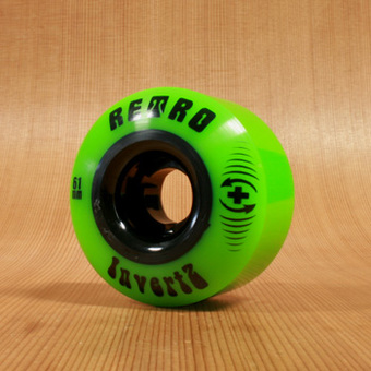 Abec11 Retro InVertz 61mm 99a Wheels - Plus