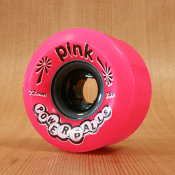 Abec11 Pink PowerBalls 72mm 78a Wheels