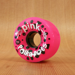 Abec11 Pink Polkadots 62mm 78a Wheels