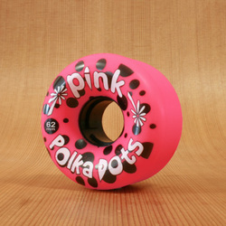 Abec11 Pink Polkadots 62mm 96a Wheels