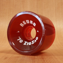 Abec11 Retro ZigZag 70mm 78a Red