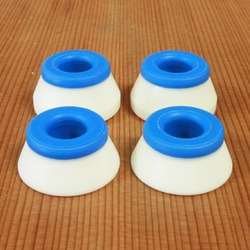 Bones Soft Bushings - White/Blue