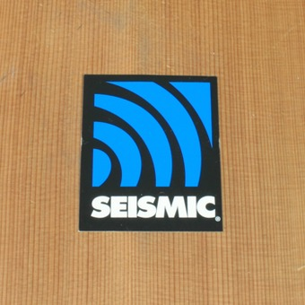 Seismic Sticker Medium Alt Logo