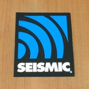 Seismic Sticker Large Alt Logo