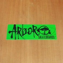 "Arbor Sticker Green 7.5"" Rectangle"