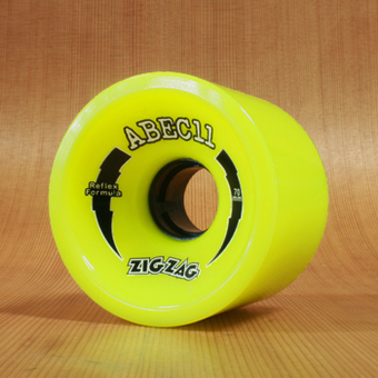 Abec11 ZigZags 70mm 83a Wheels - Lemon