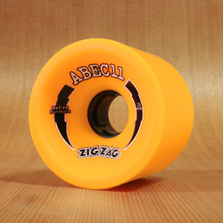 Abec11 ZigZags 70mm 86a Wheels - Orange