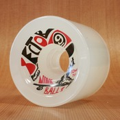Sector 9 72mm 75a Top Shelf Ghost Red Wheels
