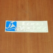 Landyachtz Sticker Blue & White