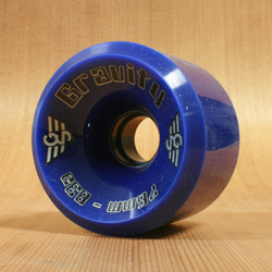 Gravity Hi-Grade 76mm 83a Wheels - Blue