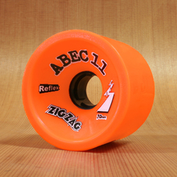 Abec11 ZigZags 70mm 89a Wheels - Orange Plus