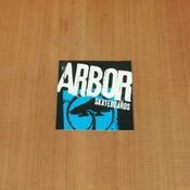 Arbor Sticker Blue Small