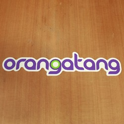 Orangatang Sticker Purple
