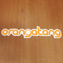 Orangatang Sticker Orange