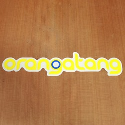 Orangatang Sticker Yellow