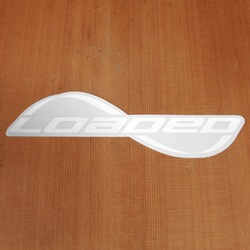Loaded Sticker White