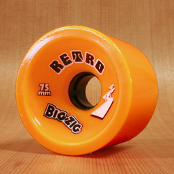 Abec11 BigZigs 75mm 86a Wheels - Orange