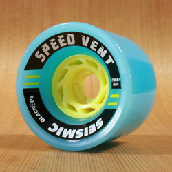 Seismic Speed Vent 73mm 80a Wheels - Blue