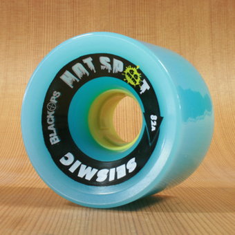 Seismic Hot Spot 66mm 82a Wheels - Blue