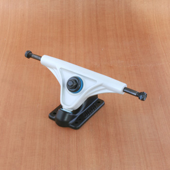 Slant 150mm Magnesium Trucks - Grey/Flat Black