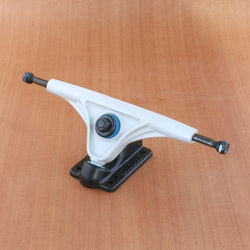 Slant 180mm Magnesium Trucks - Grey/Flat Black