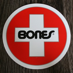 Bones Sticker Bones Swiss 6""