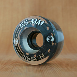 Kryptonics Classic 65mm 80a Clear Wheels
