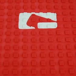 "Globe Tail Pad Grip 12""x10"" - Red"