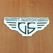 Gravity Sticker Wings Black
