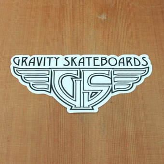 Gravity Sticker Wings White