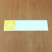 Landyachtz Sticker Yellow & White