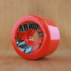 Arbor Street 65mm 78a Wheels - Red