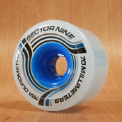 Sector 9 70mm 78a Nineball Ghost Blue/White Wheels