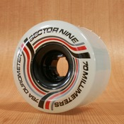 Sector 9 70mm 78a Nineball Ghost Red/Black Wheels