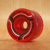Sector 9 70mm 75a Nineball Red Wheels