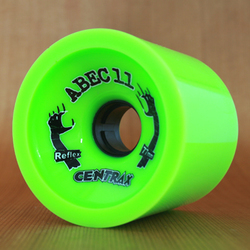 Abec11 Centrax 77mm 80a Wheels - Lime