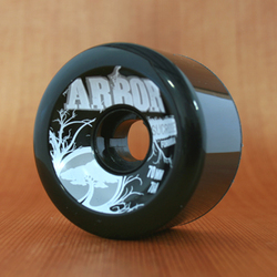 Arbor 70mm 78a Black Street Wheels