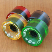Element Travel Well Boardwalk 70mm 78a Rasta Wheels